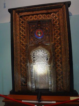 National Museum of Tajikistan: Деревянный мехроб Искодар. X век