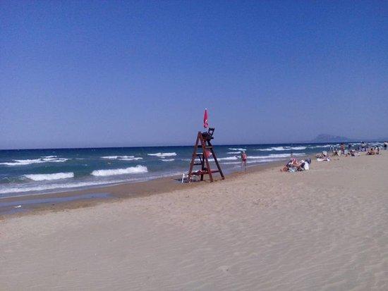 Daimus, Spain: Playa de Daimús, Daimús, Provincia de Valencia, España.