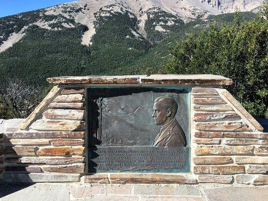 Baker, NV: Wheeler Peak viewpoint.