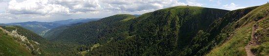 Route des crêtes : Diaporama depuis le chemin de randonnée qui va des 3 fours au Hohneck -