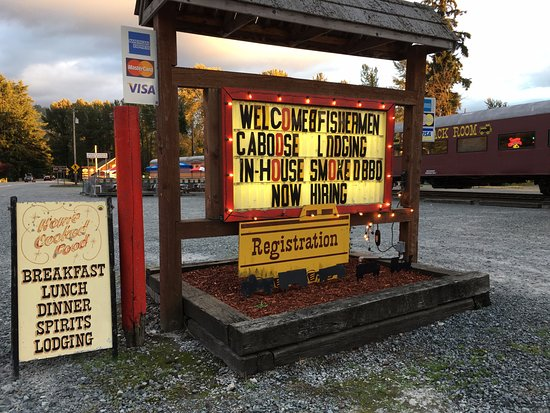 The Hobo Inn: Watch for this sign!