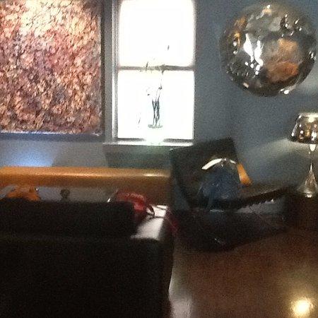 The Soho Hotel: lounge area