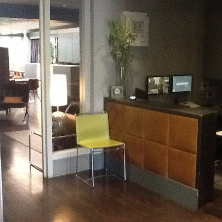The Soho Hotel: entry area