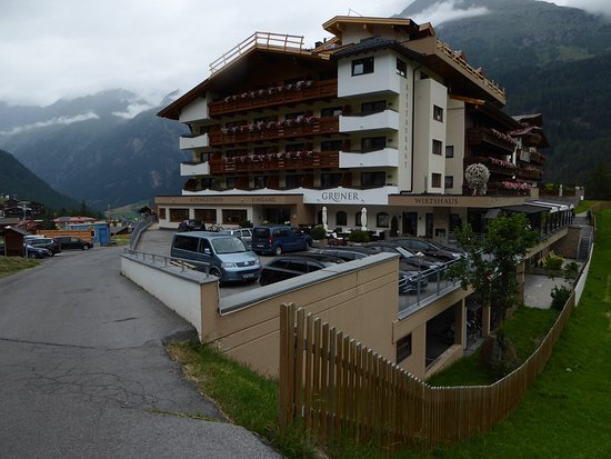Alpengasthof Grüner: Hotelkomplex - Hotel Grüner