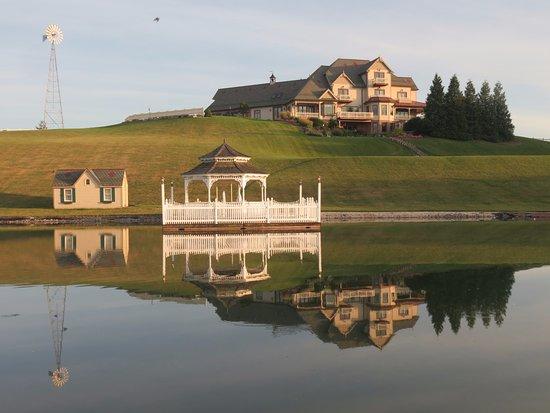 Ephrata, Pensylwania: pond view