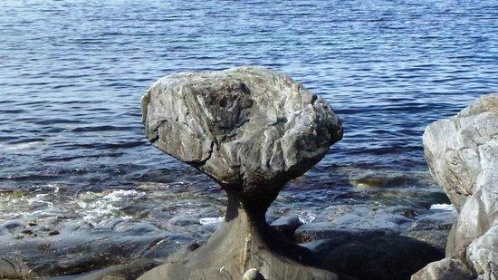 Maloy, Norway: Kannesteine an der Südküste der Insel Vågsøy