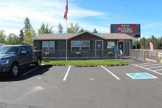 La Pine, OR: Newberry RV Park Office