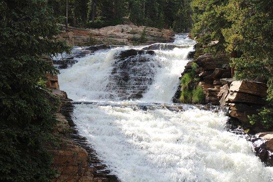 Kamas, UT: upper provo river falls