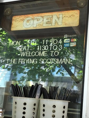 The Frying Scotsman: Open til 3 or 4