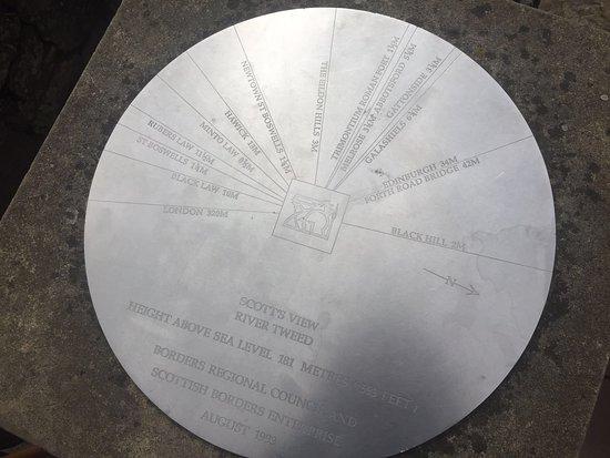 Info Disk at Scott's View