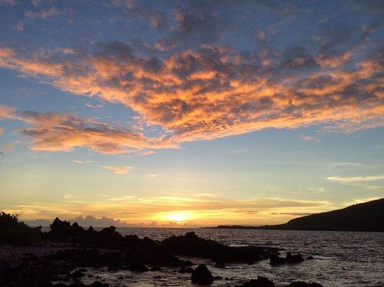 Sunset at Keylakekua Bay, Captain Cook, Hawaii