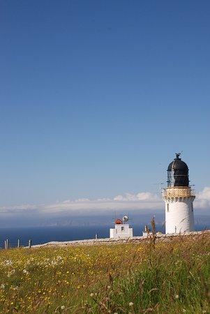 Thurso, UK: Dunnet Head Lighthouse.