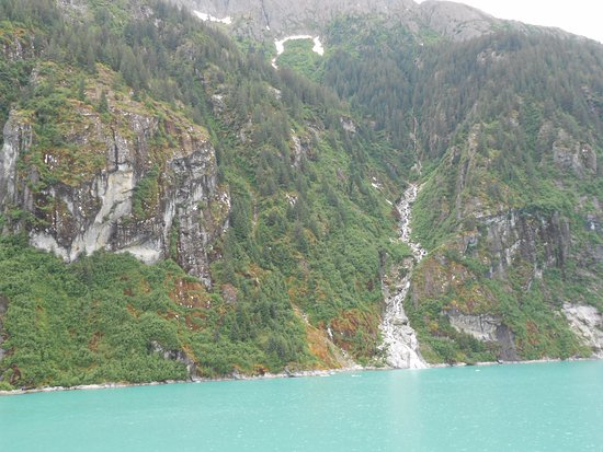 Tracy Arm Fjord: Stephens Passage e Sawyer Glacier.