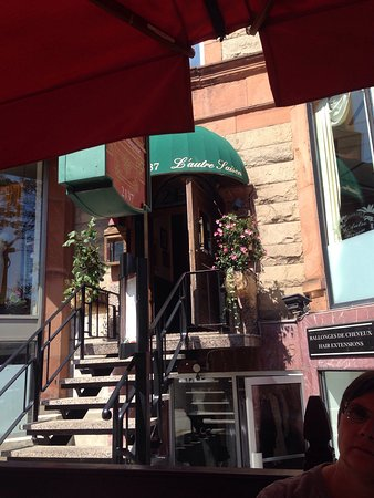 Restaurant L'autre Saison: Pate and outdoor seating