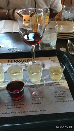 Geneva, OH: Great food great wine!