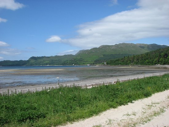 Knoydart, UK: Beach at Inverie