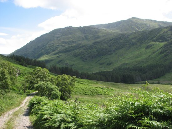 Knoydart, UK: Path to Loch an Dubh-Lochain