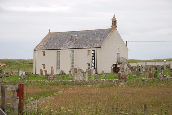 Bettyhill, UK: The Strathnaver Museum in the church at Farr.