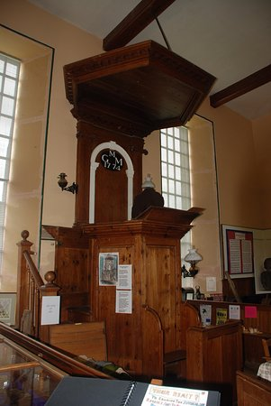 Bettyhill, UK: Pulpit where eviction notices were read during the clearances.