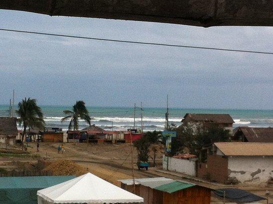 Amalur Hostal Restaurante: Vistas desde la terraza en la azotea