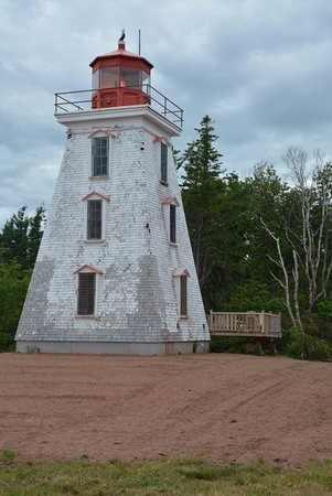 Murray River, Канада: Cape Bear Lighthouse in July 2016