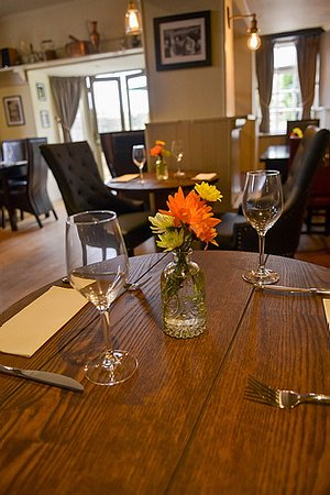 Kidlington, UK: Newly refurbished restaurant area