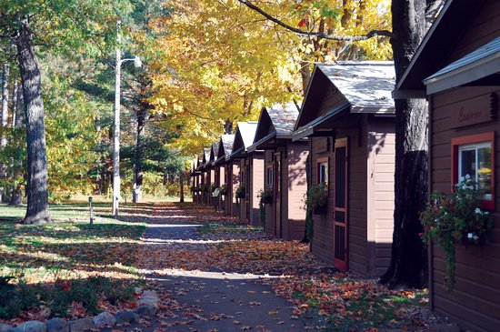 Manitowish Waters, WI: These are cabins used for scouts or other groups that want to stay at the Discovery Center.