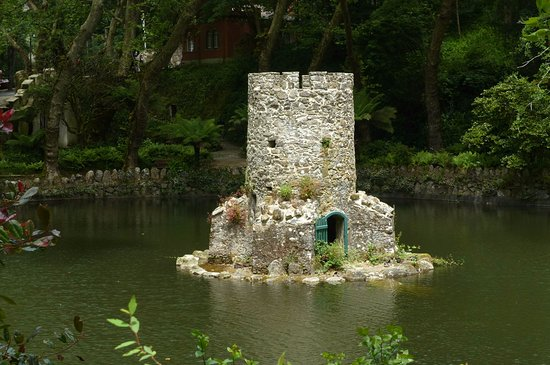 Ancient Duck Houses at Park of Pena