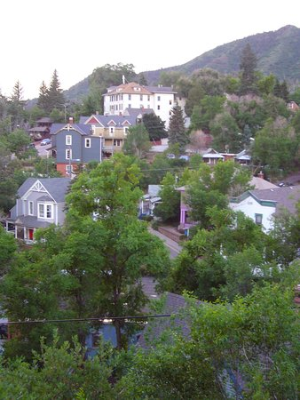 The Cliff House at Pikes Peak: View of Manitou Springs
