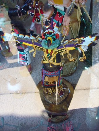 The Cliff House at Pikes Peak: Hopi Quality Kachina Doll, Manitou Gift Shop