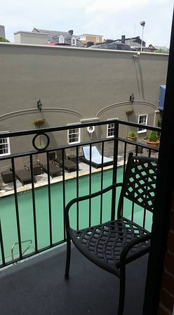 Four Points By Sheraton French Quarter: courtyard balcony view