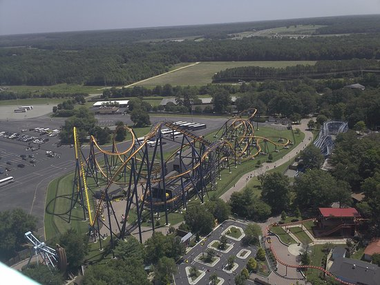 Doswell, VA: a view from the top of the eiffel tower replica.