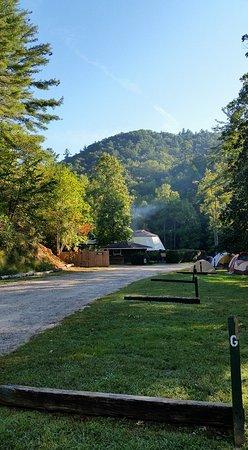 Hiawassee, GA: View from camp ground