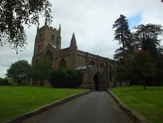 Leominster, UK: The Priory Church of St. Peter & St. Paul