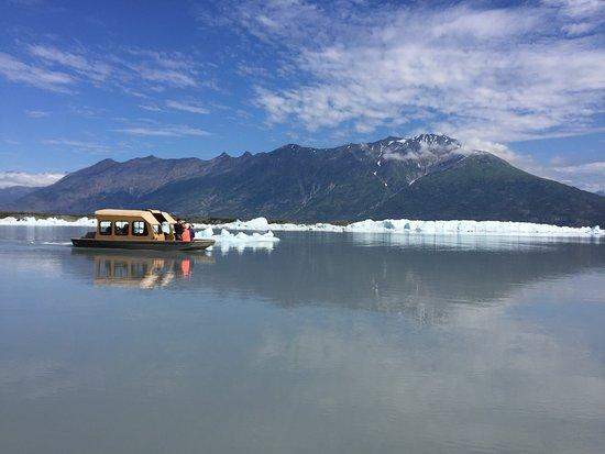 Wasilla, AK: boat ride out to Knik Glacier