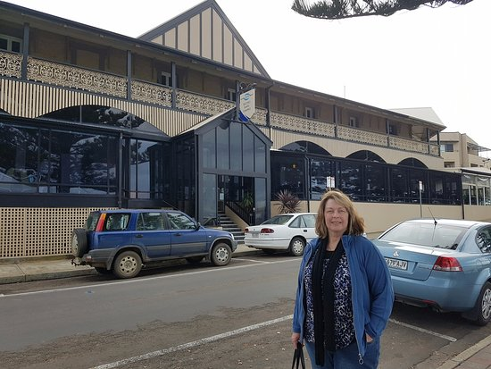Кингскот, Австралия: My wife outside the Ozone