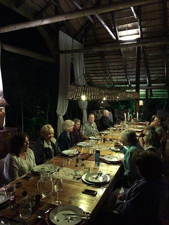 Marloth Park, Sudáfrica: During dinner