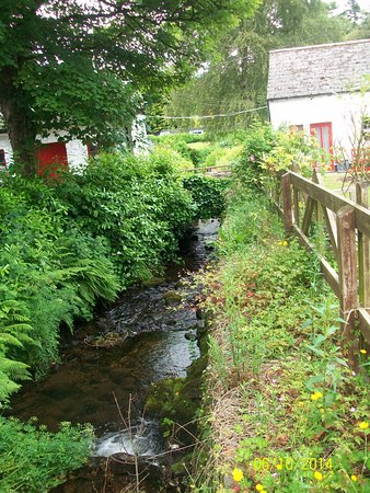 Avoca, Ierland: Creek that flowed through the mill property.