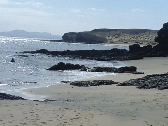 Playa de Papagayo: spiaggia piu' ad est di playa papgayo