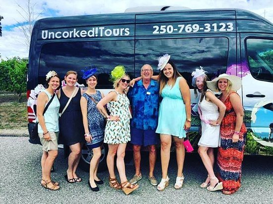 West Kelowna, Kanada: I think our owner, Jim, had a blast on tour today!
