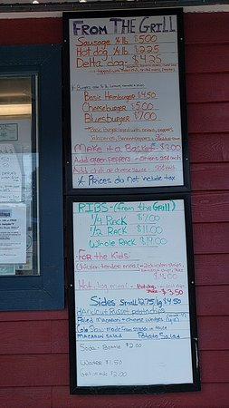 Saco, ME: Menu, Part 2 (from the grill)