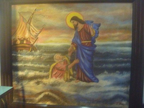Канасвьерас: Pintura de Francisco Dias de 1930, atualmente guardada na sacristia