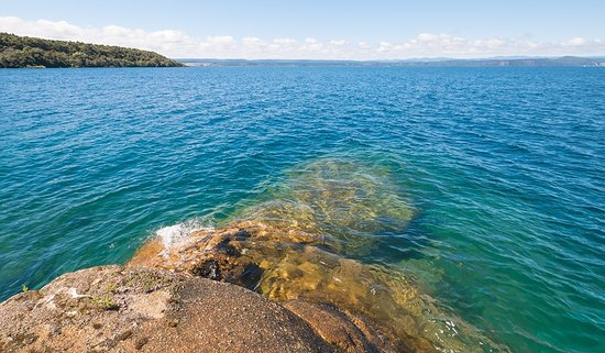 The inviting waters of Lake Taupo