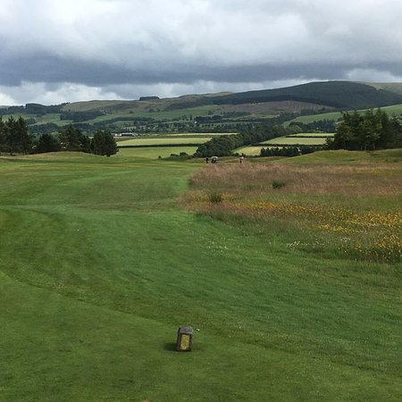 Auchterarder, UK: The scenery makes the course