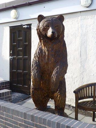 Lymm, UK: Carved Bear