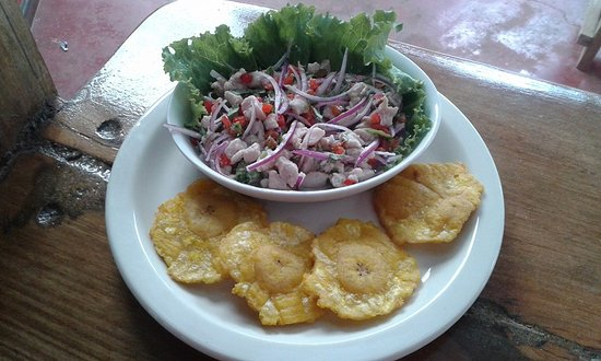 Cocles, Kostaryka: Fish Ceviche