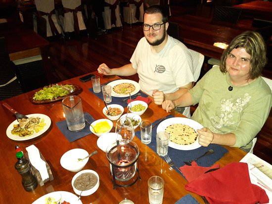 La Paloma Lodge: The food was delicious