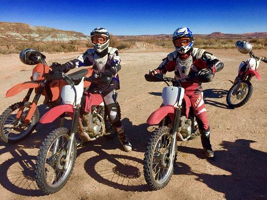 Montrose, CO: Matt and Ryan on their Honda 230s