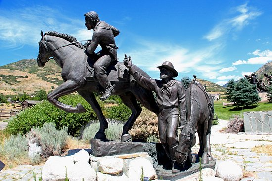‪National Pony Express Monument‬