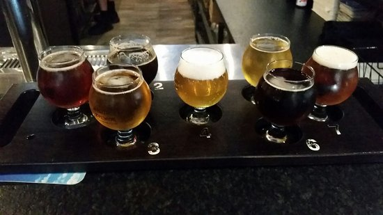 Vancouver, WA: A great flight of beer!